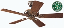 Win a Hunter Seville Ceiling Fan worth over £300 - www.periodliving.co.uk