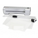 WIN AN A4 GENIE LAMINATOR STARTER PACK INCLUDING MACHINE POUCHES AND CUTTER - www.normansoffice.co.uk