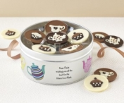 Win a Personalised Artisan Chocolate Afternoon Tea Gift Set from Sent with a Loving Kiss - www.sixtyplusurfers.co.uk