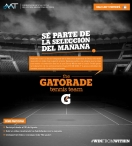 Gatorade Argentina the GATORADE tennis team - www.gatorade.com.ar