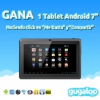 Promoci�n Gugaloo Gana 1 Tablet Android - www.gugaloo.com