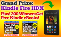 Win a Kindle Fire HDX + Hundreds of Kindle eBooks! - www.booksna.gr