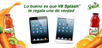 Gánate una Tablet mini con V8 Splash - www.v8splash.com.mx