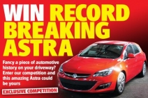 Win this record-breaking Vauxhall Astra - www.autoexpress.co.uk