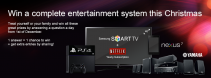 Win a complete entertainment bundle this Christmas with UK2 - www.uk2.net