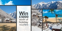 Win £5000 of holiday vouchers - www.argos.co.uk
