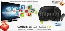 Ganate un DROID TV regalo ideal para disfrutar en Vacaciones - www.x-view.com
