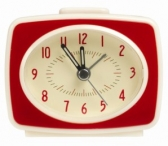 Win a Vintage TV Style Red Alarm Clock from Dotcomgiftshop - www.sixtyplusurfers.co.uk