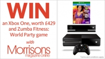 WIN an Xbox One worth £429 and Zumba Fitness: World Party game - your.morrisons.com