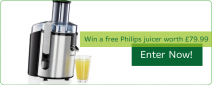 5 Free Juicers to Give Away! - www.amchara.co.uk/competition