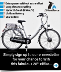 You could win a Silentforce Electric Bike worth £499.99! - www.therange.co.uk