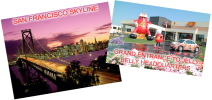 Enter to win an amazing 7-night holiday for two people in San Francisco: - www.whatsyourfavouriteflavour.co.uk