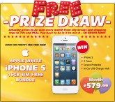 Win a Apple iPhone 5 - homeshopping.24ace.co.uk