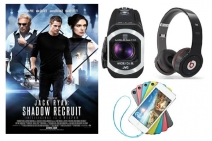 Win a pair of Beats Wireless Headphones a 64GB Apple iPod Touch and a JVC camcorder with Jack Ryan: Shadow Recruit - www.stuff.tv