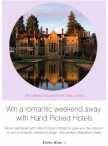 Win a luxury break - www.evans.co.uk