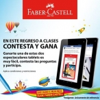 ¿Quieres ganarte una de estas espectaculares tablets? - www.faber-castell.com.co