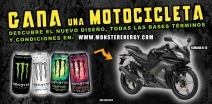 GANA UNA MOTOCICLETA CON MONSTER ENERGY - www.monsterenergy.com