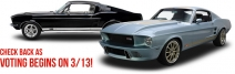 Enter to win either a 1967 Ford Mustang Fastback 1968 Dodge Coronet or a 1969 Chevrolet Camaro - myclassicgarage.com