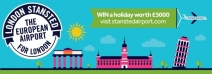 ENTER NOW to win a £5000 Thomson Holiday voucher to spend on a fabulous break flying from Stansted Airport. - www.stanstedairport.com