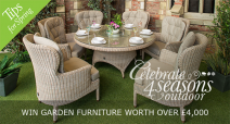 Win this wonderful prize: 4Seasons Buckingham Suite worth £4300.00 - www.hayesgardenworld.co.uk