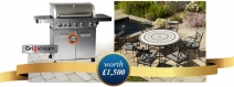 WIN a gourmet Grillstream BBQ and luxury LeisureGrow garden dining set - www.beriocirio.co.uk