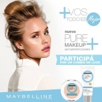 Concurso Maybelline New York Argentina Maybelline Pure MakeUp - www.maybellineargentina.com.ar