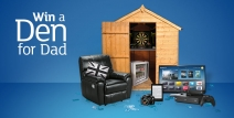Win Dad a den - www.argos.co.uk