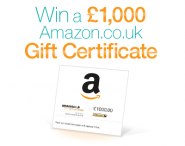 Enter to win a £1000 Amazon.co.uk Gift Certificate - www.amazon.co.uk