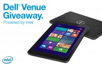 Win a touch-optimized Dell Venue 8 Pro tablet with multi-touch display and quad-core Intel Atom processor. Valued at $329.99 - www.staples.com