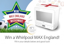 win a 10 Max England Microwaves - www.maxenglandwhirlpool.co.uk