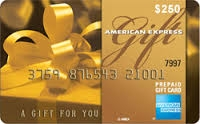 $250 American Express Gift Card - Dare Foods