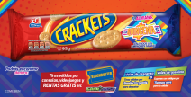 PROMOCIÓN: CRACKETS® TE ALIVIANA LA QUINCENA. - crackets.com.mx