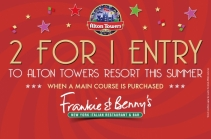 Win £500 in Frankie & Benny's vouchers! - www.winningmomentsonline.co.uk