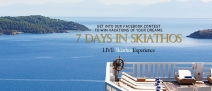 Win a 7 Days in Skiathos - www.kivoskiathos.com