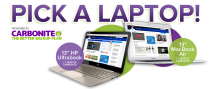 Enter to win a fully loaded HP ultrabook or a 13-inch 128 GB MacBook Air - pick.komando.com
