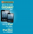 Enter for a chance to win a 16GB Wi-Fi New iPad - www.teachercreated.com