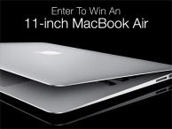 The 11 MacBook Air Giveaway - stacksocial.com