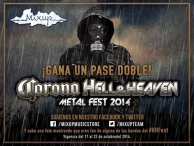 Quieres ir al Hell And Heaven Fest ? Mixup tiene pases dobles para ti !!!!! - www.mixup.com.mx