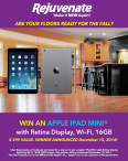 enter for a chance to win an Apple� iPad Mini with Retina Display - www.rejuvenateproducts.com