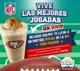 Concurso Helados Dolphy NFL - www.dolphy.com.mx