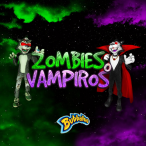 Promoci�n Zombies y Vampiros - Bubbaloo Colombia