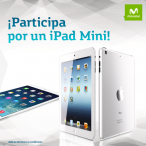 Gana un iPad mini de 16G recargando en Mi Movistar - www.movistar.co/