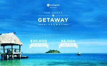 The Great Getaway Giveaway where you can enter for a chance to win $20000 - www.barclaycardtravel.com