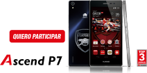 Gana con Huawei y Arsenal - huaweidevice.cl