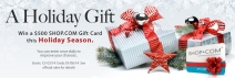 Enter daily to win a $500 Shop Gift Card - www.shop.com