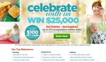 Enter daily to win $25000 Cash for Baby Gear - secure.parents.com