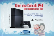 G�nate un PlayStation 4 registrando tu e-mail - www.ktronix.com