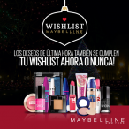 Wishlist - Maybelline New York Chile