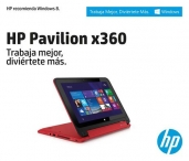 gana una HP Pavilion x360 con Windows 8.1. - HP Chile