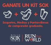 Run The World - participan por el sorteo de un kit de productos Sox - www.runtheworld.com.ar